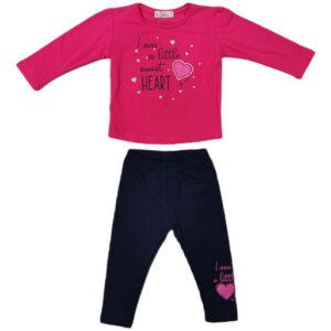crno roze trenerka za bebe 0436