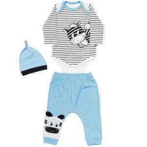 plavo sivi komplet za decake 0459