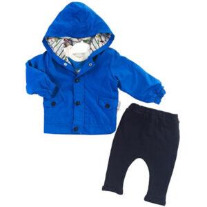 plavo crni komplet sa jaknom 0476