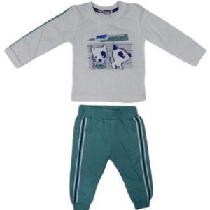 belo zelena trenerka za bebe 0479