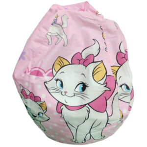roze fotelja lejzi beg macka