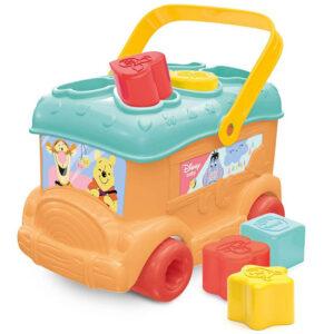 narandzasti Didaktički autobus Clementoni Winnie