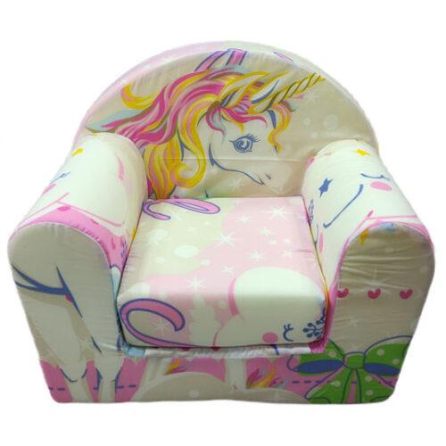 decija foteljca sa likom jednoroga