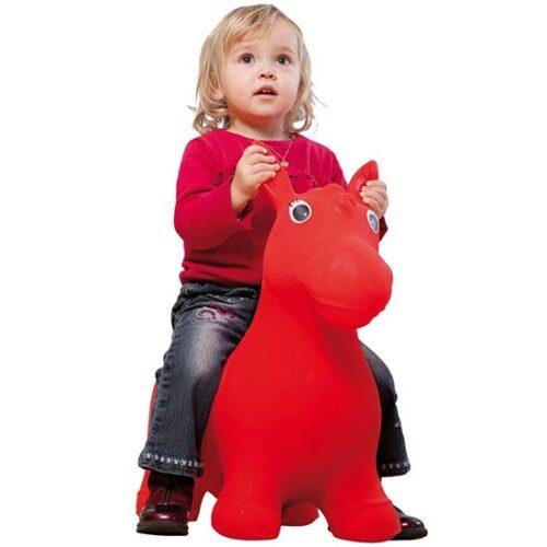 devojcica na gumenom konjicu john