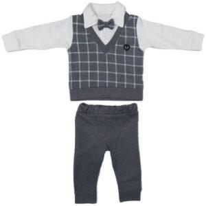 sivo beli komplet za bebe 0404