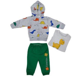 zeleno siva trenerka za bebe 0422