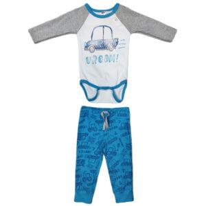 plavo beli kompletic za bebe 0424