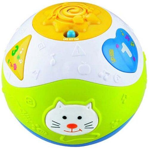sarena zvucna lopta za bebe digo
