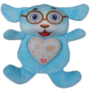 plava plisna igracka hug