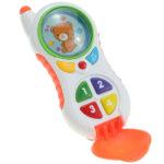 telefon za bebe bele boje