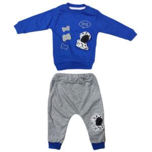 plavo siva trenerka za bebe 0442