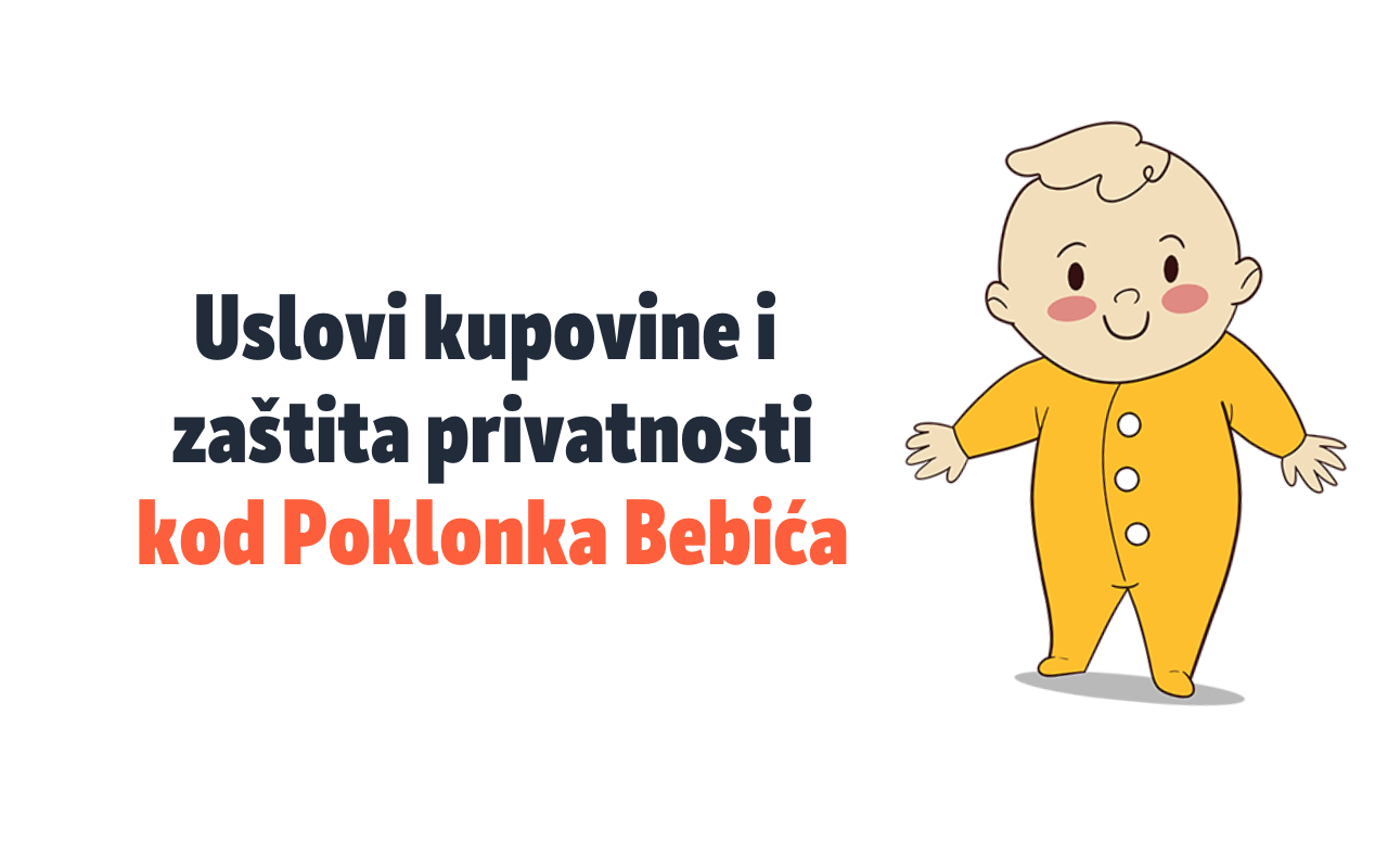 Uslovi kupovine na poklonizabebu.rs