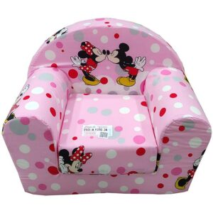 roze foteljica za decu mini i miki